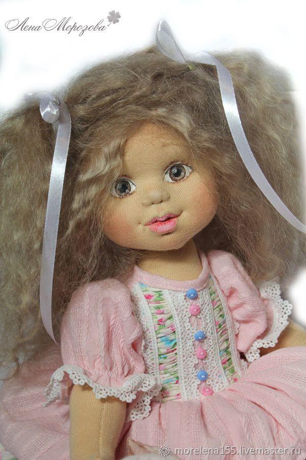 Купить Малышка Софи. Авторская текстильная кукла.(бронь) в интернет магазине на Ярмарке Мастеров