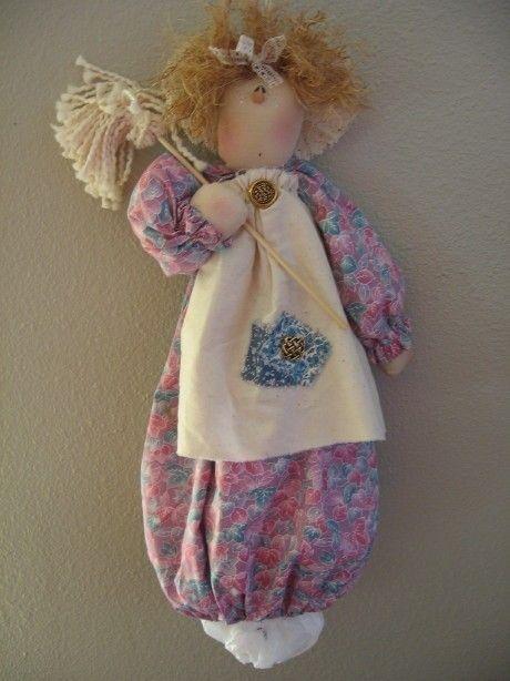 Angel Bag LadyE pattern Bag Holder