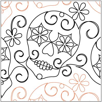 """A single row is 12.5"""" wide– printed with one row – 144"""" long   © 2013 Sandrah Burrier * This design is available in both paper and digital. Please select your preference below.  All digital designs include the following conversions:  CQP, DXF, HQF, IQP, MQR, PAT, QLI, SSD, TXT, WMF and 4QB or PLT. Most designs also include a DWF, GIF and PDF. This pattern was converted by Digitech."""