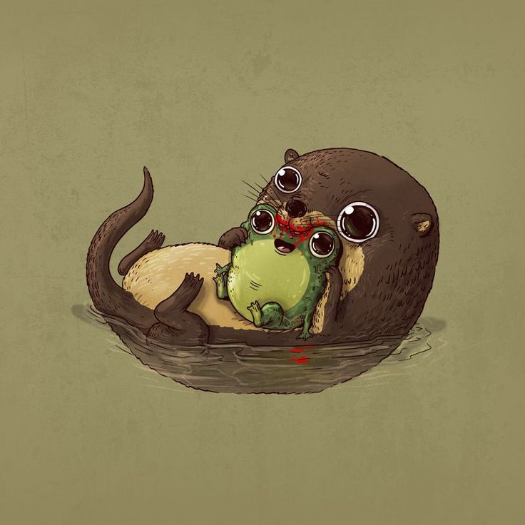 Circle of life illustrations | These playful illustrations were created by Alex Solis