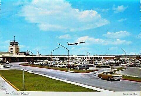 San Antonio International Airport 1970 San Antonio