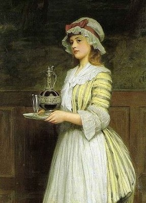 Elegant Maids of Yesterday -  Image Detail for - daily aesthetic promenade
