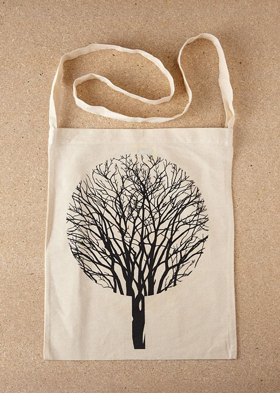 Urban Forest Tote Bag, by SOLD via Folksy, £8.00