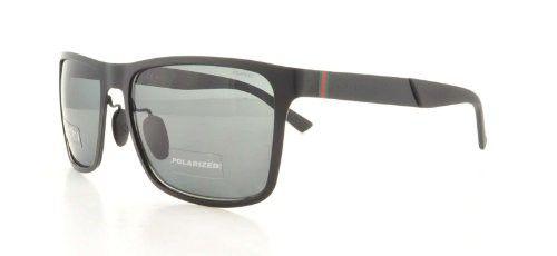 Gafas de sol Gucci Semi Mate Negro Lente Gris polarizada 57mm GG2238/S  | Antes: $1,059,000.00, HOY: $619,000.00