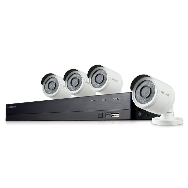 SDH-B74041 - Samsung 8 Channel 1080p HD 1TB Security Camera System