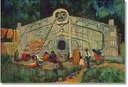 'House Front, Gold Harbour' / Emily Carr / Vancouver Art Gallery / 42.3.34