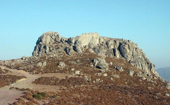Monte Forte, Siteia, Southern Lasithi Prefecture, #fortification, #archaeology