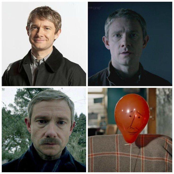 "Evolution of John Watson. Sherlock S04 E01 ""The Six Thatchers"". Season 4."