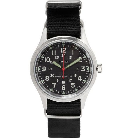 great gift for your man! Timex x J.Crew military watch