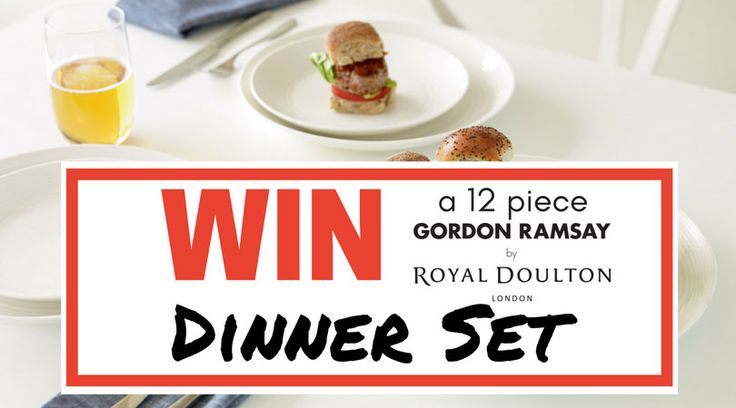 Simply Subscribe to the Tableking Newsletter for your chance to win the Royal Doulton Gordon Ramsay Maze White 12pc Dinner Set. No purchase necessary. Offer available to Australian residents over the age of 18. NSW Lotteries Permit Number: LTPM/17/01761