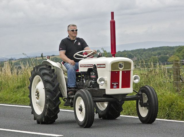 David Brown 770 Selectamatic Tractor I want to restore ours so it looks as good as this one.
