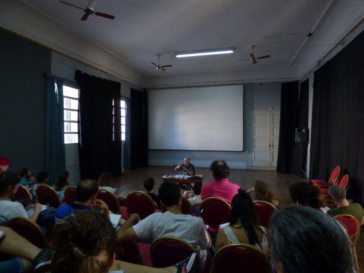 El Referente cultural santafesino #DanielOtero, estuvo presente en el curso que dictara #GabrielNardacchione, el pasado viernes 10 y Sabado 11 en el #MuseoRosaGalisteo.