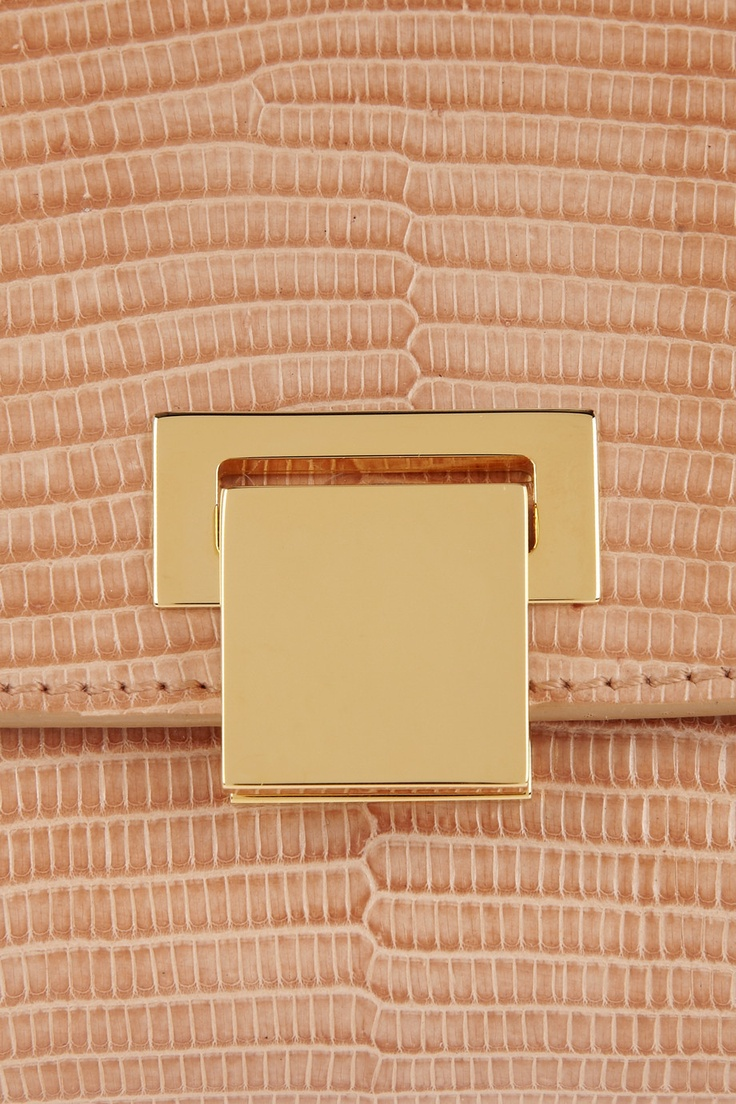 The Row | Metal-framed lizard clutch | NET-A-PORTER.COM