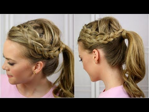 I will never be able to do this but this is gorgeous! Double Dutch Waterfall Braid