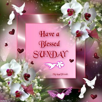 Have a blessed Sunday,