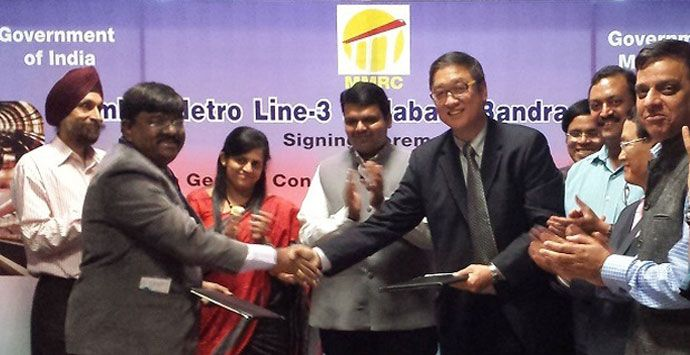 AECOM is leading a consortium to deliver the Mumbai Metro Line 3 project in India.The project will be the first underground metro line to be built in the Mumbai metropolitan region, which has a population of close to 21 million. The line, when completed by 2020, is expected to provide much-needed relief to commuters.