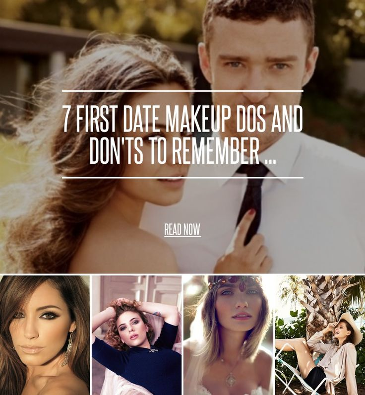 7 First Date Makeup Dos and Don'ts to Remember ... - Makeup [ more at http://makeup.allwomenstalk.com ] If you're going on a first date, chances are you're super nervous and might could use a few first date makeup tips to help you out. Going on a date is fun, exciting and should be a fun experience for you. Yes, you'll have the jitters, but that's totally normal. First impressions count, so to be sure you get your makeup right, let me give you a few po... #Makeup #Pout #First #Tips #Date…