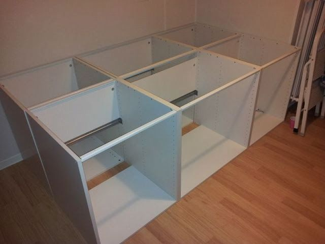Faktum cabinets double bed | IKEA Hackers Clever ideas and hacks for your IKEA