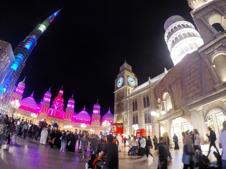 Testing my GoPro out at Global Village in Dubai. Amazing photos. #UAE #Architecture