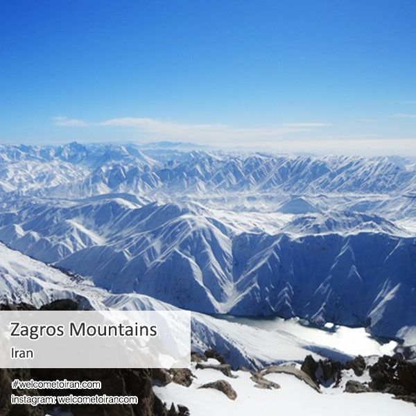 The Zagros #Mountains form the largest mountain range in Iran, Iraq and Eastern #Turkey. This mountain range has a total length of 1,500 km (932 mi). The #Zagros mountain range begins in northwestern Iran and roughly corresponds to Iran's western border, and it spans the whole length of the western and southwestern Iranian plateau, ending at the Strait of Hormuz. The highest point in the Zagros Mountains is #Dena. These mountains are regarded as sacred by the #Kurds…