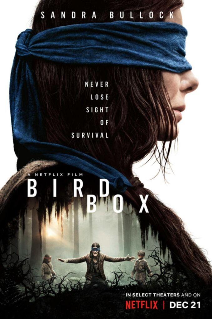 Bird Box (2018)   Horror in 2019   Suspense movies, Bird ...