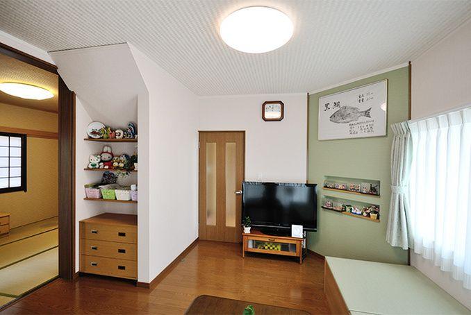 孫と遊ぶバリアフリーな住まい 耐震補強で安全・安心 | 名古屋のリフォームとリノベーション モアリビング