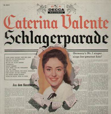 Caterina Valente - Schlagerparade at Discogs 1958