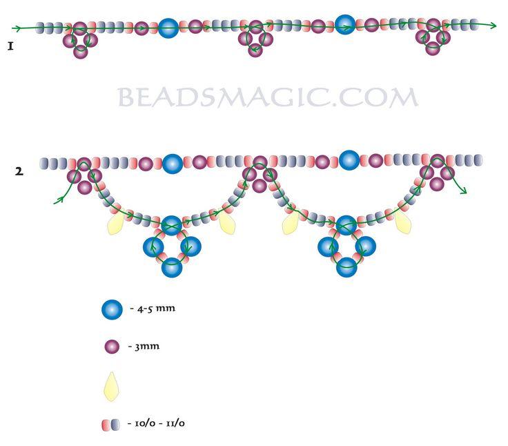 470 best Beads magic images on Pinterest Beading patterns Bead