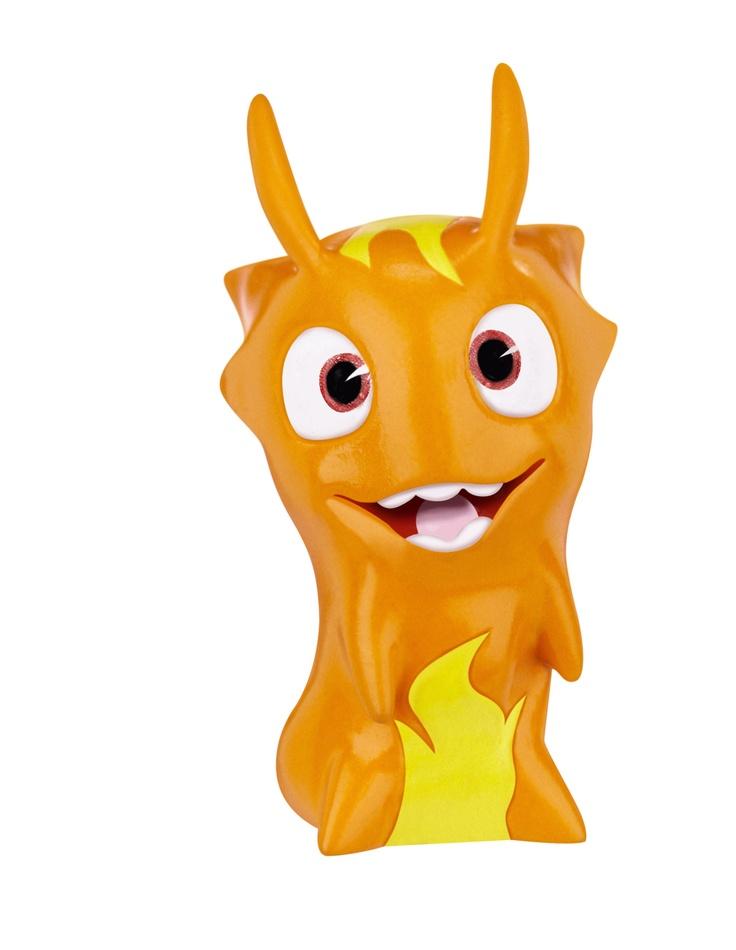 Burpy, part of the Slugterra collectible figures line, from Jakks Pacific. #nerdcorps #slugterra #burpy #jakkspacific