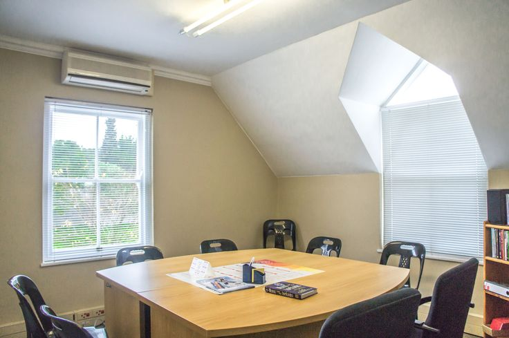 Room currently being used as an office, suitable to be made into a bedroom at this Paarl property.