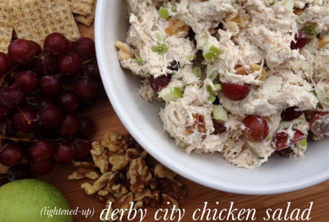 Derby city chicken salad (lightened up)