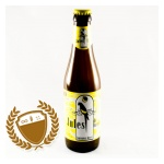 Jules de bananesis a banana-flavoured fruity beer.  The perfect 'exotic partner' for a beachparty or sunny sidewalk café (www.deryckbrewery.be, 2012).