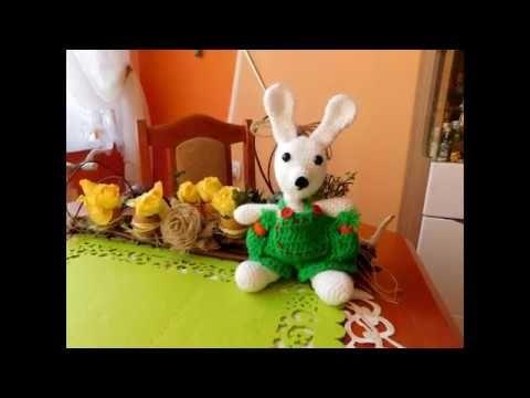 Zajączek Wielkanocny / Bunny Crochet  Amigurumi DIY
