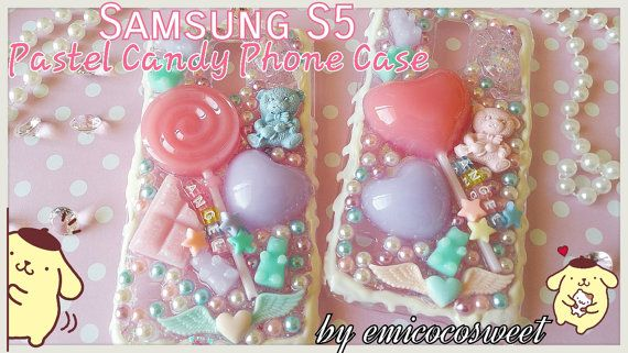 Samsung s5 PhoneCandy Phone CaseSamsung by emicocosweet on Etsy