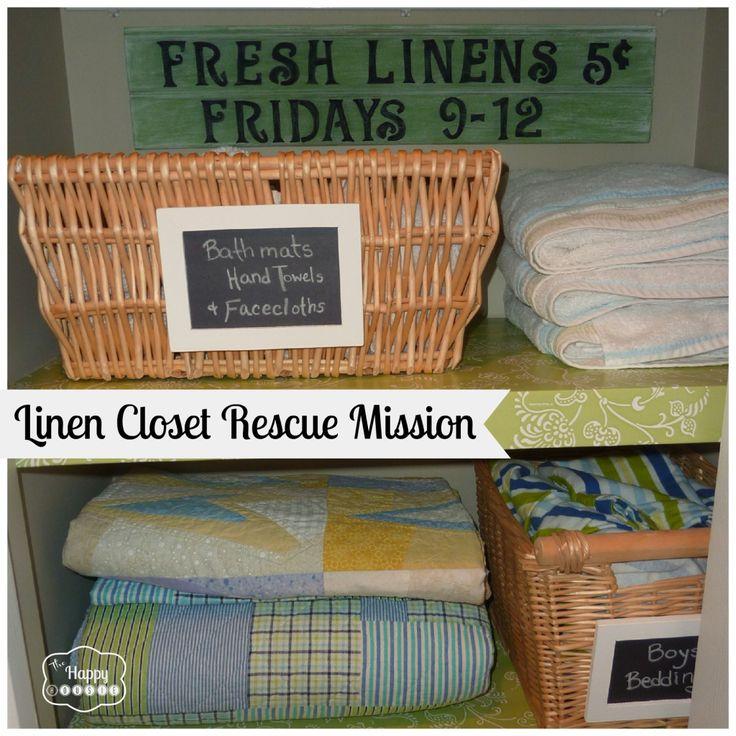 linen closet rescue mission
