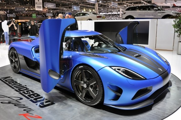 KOENIGSEGG AGERA MODEL YEAR 2013