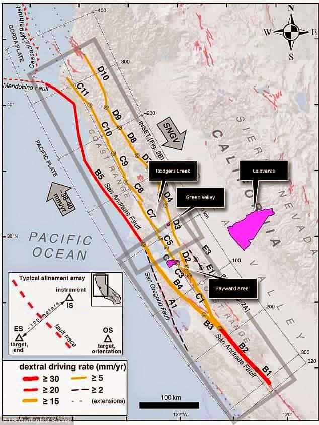 Un séisme de magnitude 4,0 s'est produit lundi à 06H49 locales (13H49 GMT) dans les environs de San Francisco sur la côte ouest des Etats-Unis, a rapporté l'Institut de géophysique américain (USGS). Le tremblement de terre a eu lieu à une profondeur de...