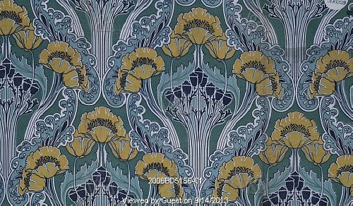 Image Of Furnishing Fabric By F Steiner Co England 1903 VA Images