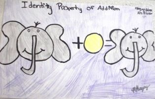 A great way to illustrate the Identity Property of Addition!