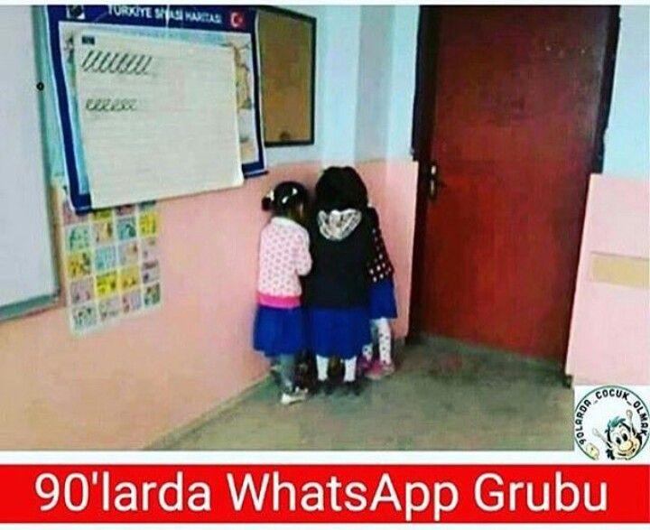 90'larda WhatsApp Grubu.  #mizah #matrak #espri #komik #şaka #gırgır #sözler #güzelsözler #komiksözler #caps