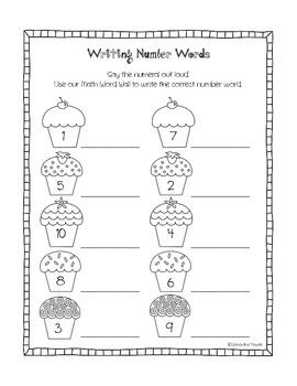 17 Best images about Number words kindergarten on Pinterest ...
