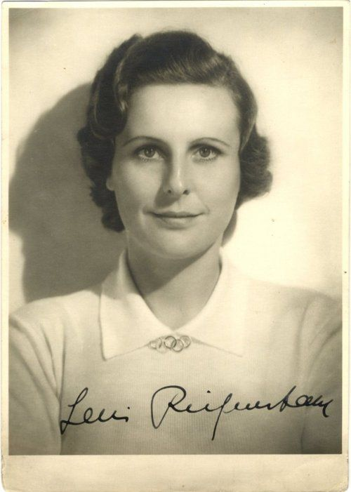 Autographed photo of Leni Riefenstahl, possibly the best German film director of…