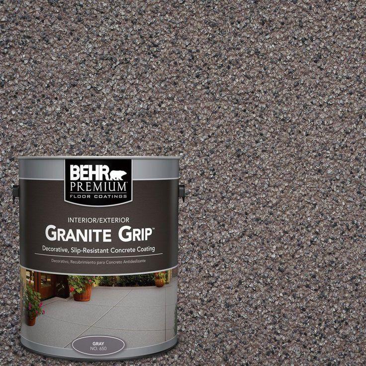 BEHR Premium 1 gal. #GG-03 Atlantic Topaz Granite Grip Decorative Concrete Floor Coating