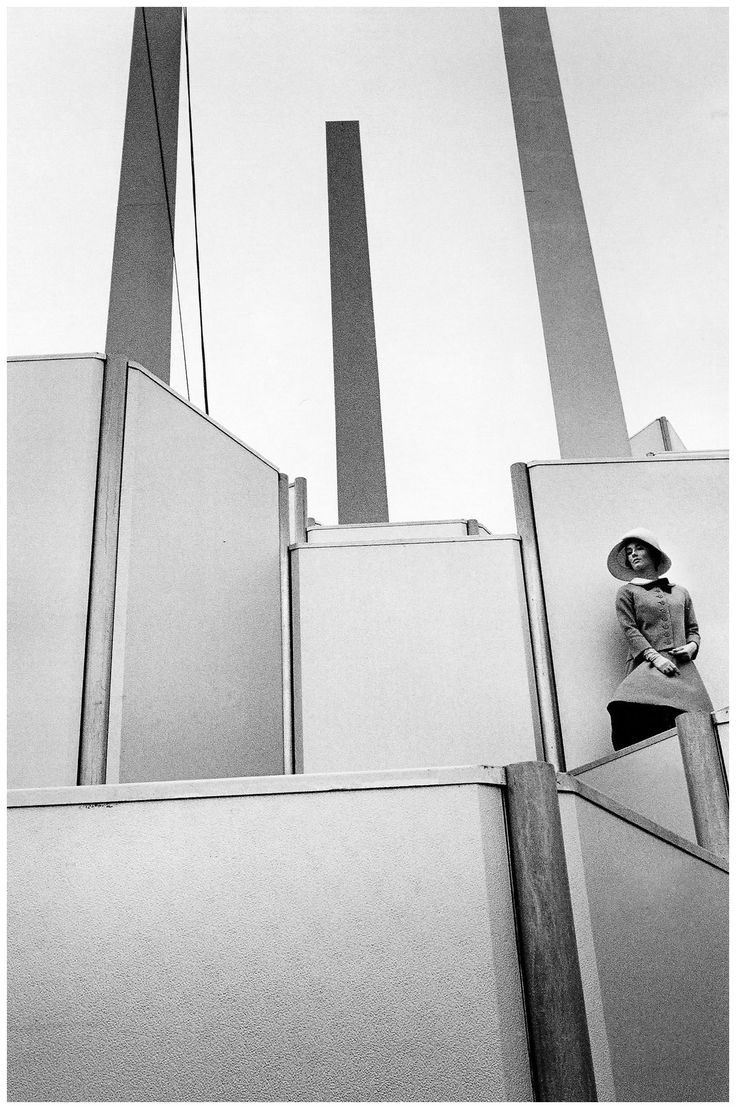 Fashion photo for Harper's Bazaar by Jeanloup Sieff, 1963