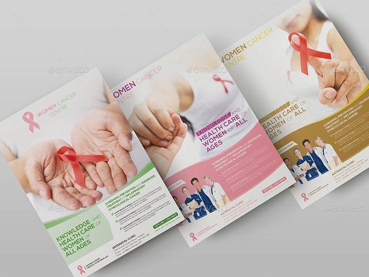 Best Medical Flyer Images On   Flyer Design