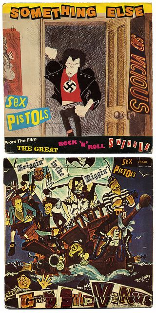 Something Else b/w Friggin' In The Riggin' Sex Pistols, Virgin Records/UK (1979)  From The Film THE GREAT ROCK 'N' ROLL SWINDLE
