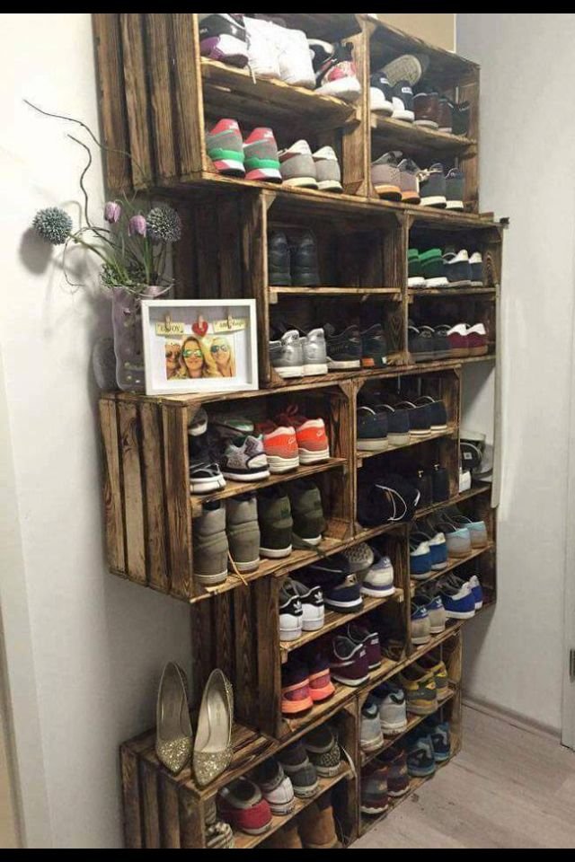 Cool way to store shoes