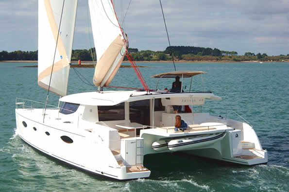 Catamarans BELLA VITA I, Manufacturer: FOUNTAINE PAJOT , Model Year: 2009, Length: 48ft, Model: Salina 48, Condition: USED, Listing Status: Catamaran for Sale