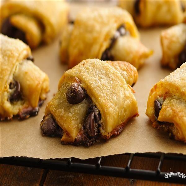 Chocolate-Orange Pastries Recipe — Dishmaps