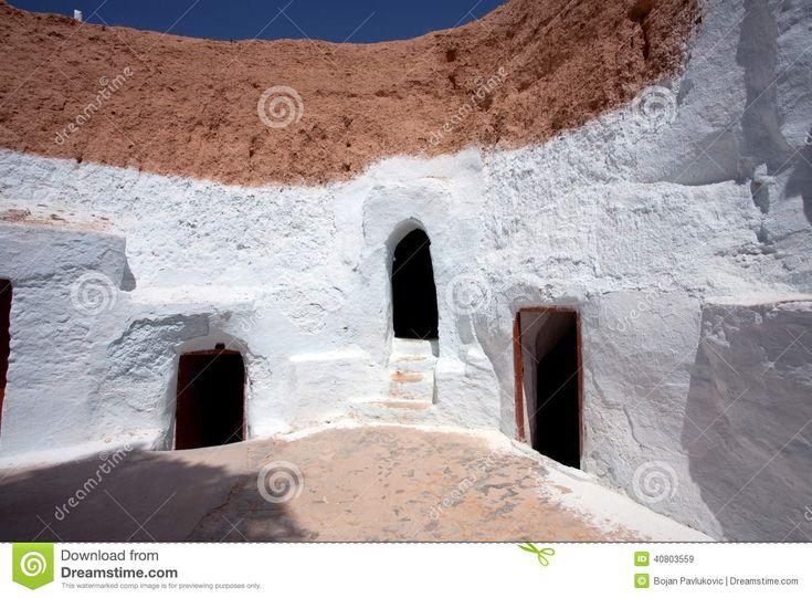 Matmata, Τυνησία Στοκ Εικόνες - εικόνα: 40803559